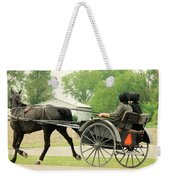 Horse Powered Transportation Weekender Tote Bag