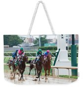 Horse Races At Churchill Downs Weekender Tote Bag
