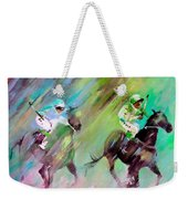Horse Racing 04 Weekender Tote Bag