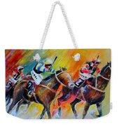 Horse Racing 05 Weekender Tote Bag