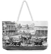 Horse Racing, C1869 Weekender Tote Bag