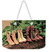 Horse Riding Boots Weekender Tote Bag