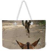 Horse Riding Weekender Tote Bag