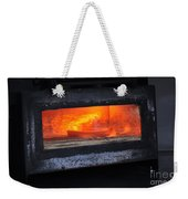Horse Shoes On Fire Weekender Tote Bag