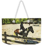 Horse Showing Weekender Tote Bag