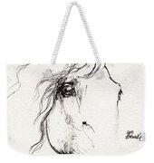 Horse Sketch 2014 05 24a Weekender Tote Bag