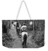 Horse Trail Weekender Tote Bag