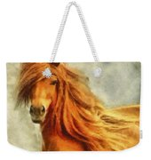 Horse Two Weekender Tote Bag
