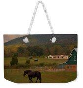 Horseback Riding In Gatlinburg Weekender Tote Bag by Dan Sproul