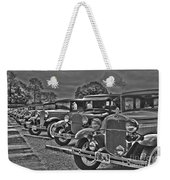 Horseless Carriages Weekender Tote Bag