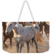 Horses 7 Weekender Tote Bag