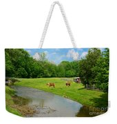 Horses At Home On The Range Weekender Tote Bag