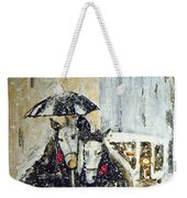 Horses At Stephansdom  Weekender Tote Bag
