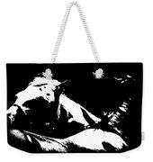 Horses - Black And White Weekender Tote Bag