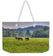 Horses In A Field 2 Weekender Tote Bag