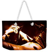 Horses In The Afternoon Weekender Tote Bag