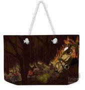 Horses On The Hillside Weekender Tote Bag