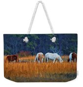 Horses On The March Weekender Tote Bag