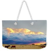 Horses On The Storm Weekender Tote Bag by James BO  Insogna