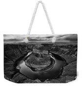 Horseshoe Bend Arizona Monochrome Weekender Tote Bag