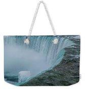 Horseshoe Falls Ice Formations Weekender Tote Bag