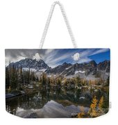 Horseshoe Lake Cloud Dramatic Weekender Tote Bag