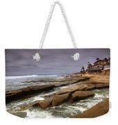 Horseshoes Beach Weekender Tote Bag