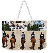Horseshow Pano Weekender Tote Bag