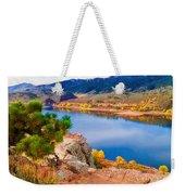 Horsetooth Lake Overlook Weekender Tote Bag by Jon Burch Photography