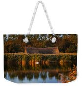 Horsey Mere On The Norfolk Broads On A Still Day In Autumn Weekender Tote Bag