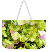 Hortensia With Touch Of Pink Weekender Tote Bag