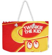 Hostess Twinkie The Kid Weekender Tote Bag by Tony Rubino