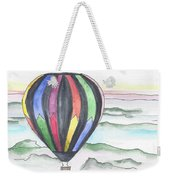 Hot Air Balloon 12 Weekender Tote Bag