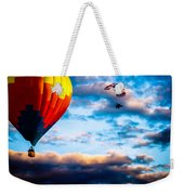 Hot Air Balloon And Powered Parachute Weekender Tote Bag by Bob Orsillo