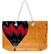 Hot Air Balloon Over Thebes Temple Weekender Tote Bag