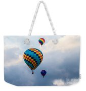 Hot Air Balloon Trio Weekender Tote Bag