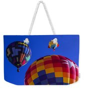 Hot Air Balloons Launch Weekender Tote Bag