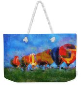 Hot Air Balloons Photo Art 01 Weekender Tote Bag