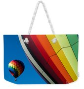 Hot Air Balloons Quechee Vermont Weekender Tote Bag