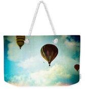 Hot Air Baloons In Blazing Sky Weekender Tote Bag