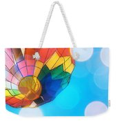 Hot Air Bokeh Weekender Tote Bag