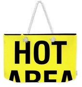 Hot Area Weekender Tote Bag