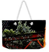 Hot Bridge At Night Weekender Tote Bag
