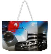 Hot Chevy Poster And Postcard Weekender Tote Bag