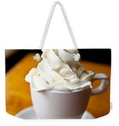 Hot Chocolate With Creme Chantilly Weekender Tote Bag