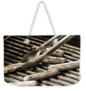 Hot Dogs On The Grill Weekender Tote Bag