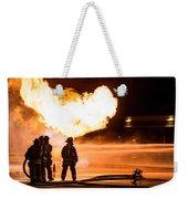 Hot Flames Weekender Tote Bag