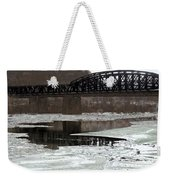 Hot Metal Bridge Weekender Tote Bag