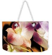 Hot Orchid Nights Weekender Tote Bag