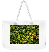Hot Pepper Collage Weekender Tote Bag